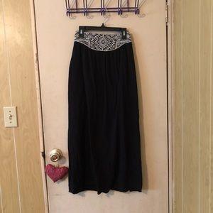 Ankle length American eagle skirt